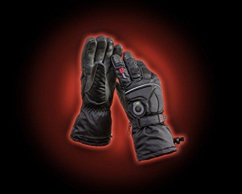 mc heat Top Qualität Beheizte Handschuhe Unisex Skihandschuhe, Jagdhandschuhe, Thermohandschuhe, Handschuhe mit Heizung für warme Hände in der Kälte! Größe S