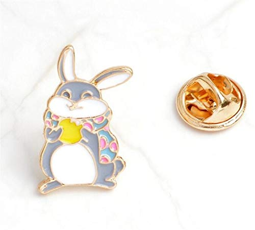 Kostüm Home Bunny - MEIDI Home Exquisite Cute Bunny Kostüm Zubehör Brosche Button Badge (bunt) Creative Lovely Abzeichen