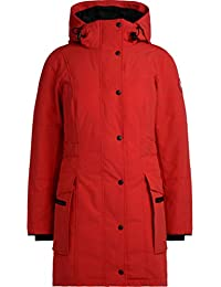 Canada Goose Parka Kinley Rot mit Kapuze