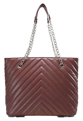 02aa6507b55d6 Anna Field Shopper Tasche für Damen mit elegantem Kettenhenkel in Lila