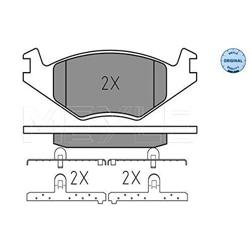 Meyle 025 208 8719 Kit de plaquettes de frein, frein à disque