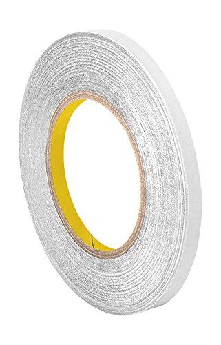 "TapeCase 427 Aluminium-Klebeband, Aluminium/Acryl, 1,5 cm x 60 m, glänzendes, silbernes Aluminium-Klebeband, umgewandelt von 3M 427, 0,0046\"" Dicke, 60 Yd Länge, 0,3 cm Breite, Rolle"