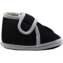 Neskamoda Sport Black Booties For 0 To 12 Months Infants - Unisex