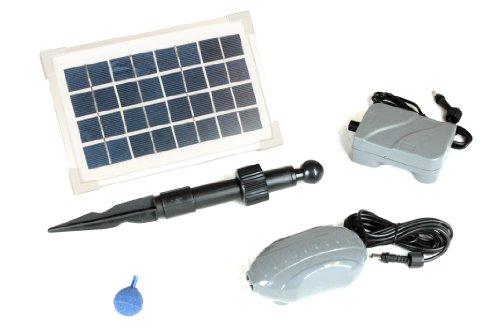 PK Green Ossigenatore solare aeratore per laghetto batteria di backup