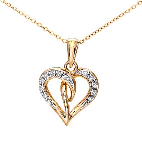 Naava - PP04240Y - Collar de mujer de oro amarillo (9k) con...