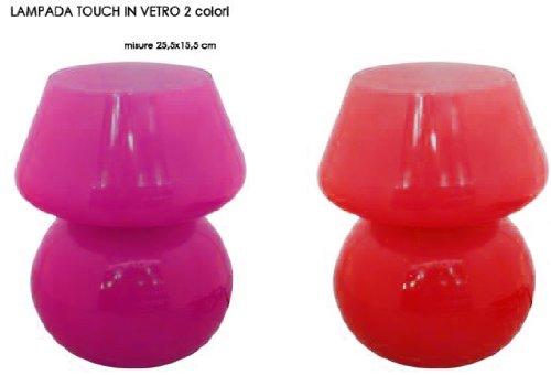 retro-lamp-tischlampe-aus-glas-235-cm-verschiedenen-farben