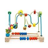 DASGF Perle Labyrinth, Puzzleball Perlen FüR Mehr Als 12 Monate Spielzeug, FrüHe Bildung PäDagogische Spielwaren Der HöLzernen, Tierspurelabyrinth.