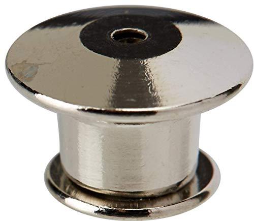Alten Westen Binden (AMOYER Locking Pin Backs für Ihre Lieblings Collectibles & Trading - ohne Werkzeug. (Lot 25, Silber))