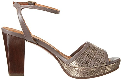 Chie Mihara Deko, Sandales  Bout ouvert femme Beige (piano taupe maitai taupe)
