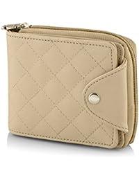 Butterflies Women's Wallet (Cream) (BNS 2384CRM)