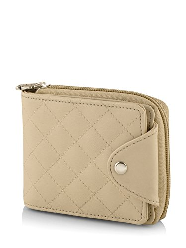 Butterflies Women's Wallet (Cream) (BNS 2384CRM)