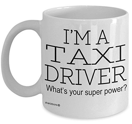 Shaniztoons Taxi Driver Funny Gift Mug