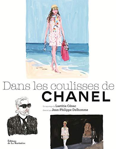Dans les coulisses de Chanel par  Laetitia Cenac