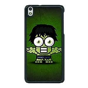 Jugaaduu Big Eyed Superheroes Hulk Back Cover Case For HTC Desire 816G