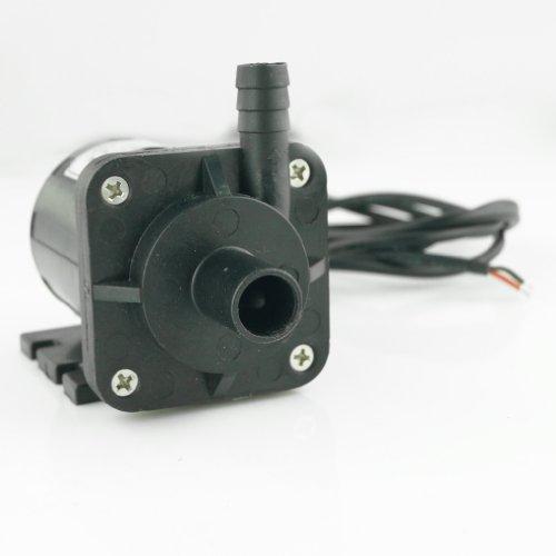 Aubig Ölpumpe Wasserpumpe Gartenpumpe Tauchpumpe Aquarienpumpe Solar 12V DC Bürstenlos Magnetische Treiber Pumpe DC40D-1250 1.1A 13.2W 450L/H 5M/16ft -