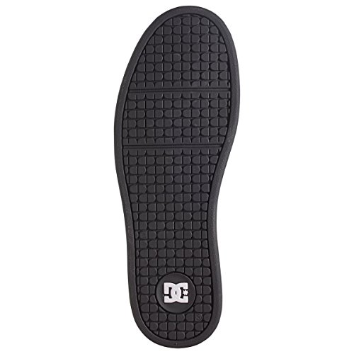 DC APPAREL Net, Baskets Basses Homme Noir (Black/Black/White)