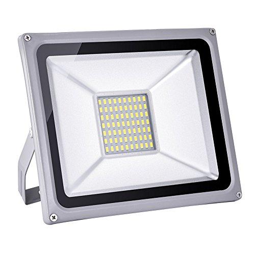 Foco proyector LED 20W/30W/50W/100W/150W/200W para exteriores, 1000LM-20000LM, Blanco frio 6000-6500K/Blanco cálido 2800K-3500K resistente al agua IP65, luz amplia, luz de seguridad Floodlight