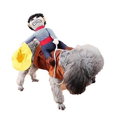 Loveso-Kleider Bekleidung Hund Welpen nette warme Strickjacke Overall-Mantel kleidet Outwear (S, Multicolor) (Strickjacke Pferd)