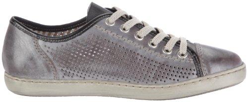 ... Rieker L7525-40 Damen Sneaker Grau (whitegrey 40)