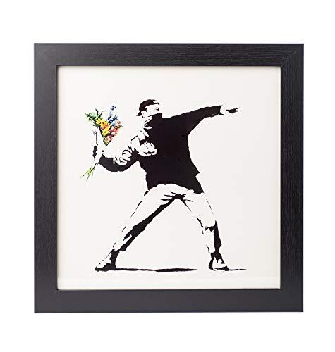 Grupo Erik Cuadro Decorativo Banksy Flower