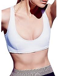 ACHICGIRL Women's Back Cross Yoga Running Sports Activewear Bra