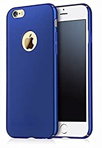 Mobiclonics® On The Cable(OTG) Plus 4 cut Matte Finish Ipacky Cover for Motorola Moto G4 plus(Blue)