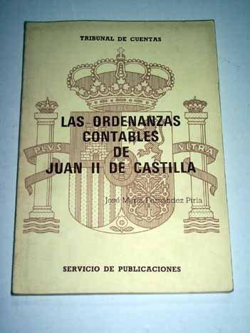 LAS ORDENANZAS CONTABLES DE JUAN II DE CASTILLA