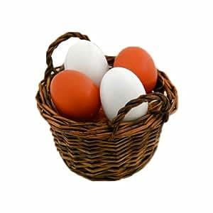 Tanner - Pretend Play Basket of Eggs