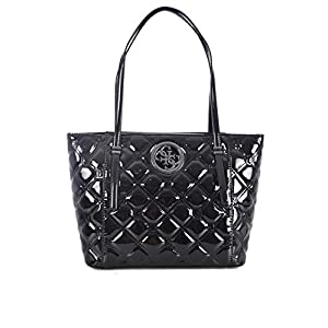 HWPQ7186230 Black Guess GUESS HANDBAG MAIN Borsa Donna