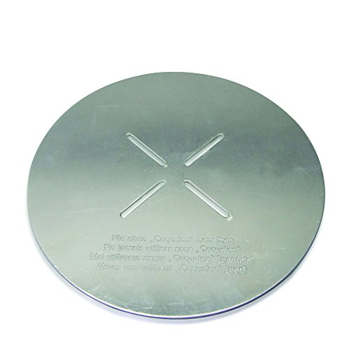 Kela 66595 Flammenverteiler für Käse-Fondue, Aluminium, 15,5 cm Durchmessern, Balerno