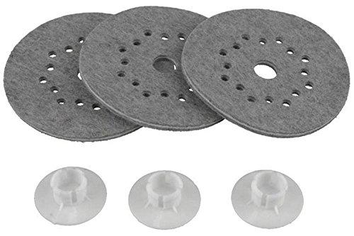 Electrolux VD42 - Set de filtros para enceradora (3 filtros)
