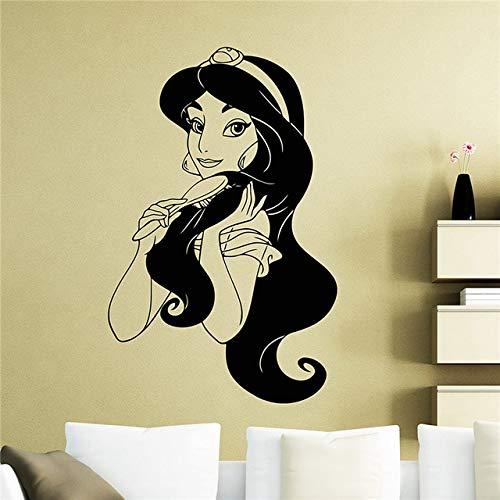 asmin Wandaufkleber Aladdin Aufkleber Dekoration Jedes Zimmer Wasserdicht St 43 * 60 cm ()