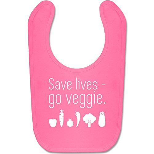 up-to-date-baby-save-lives-go-veggie-unisize-pink-bz12-susses-baby-latzchen-als-accessoire-fur-jungs