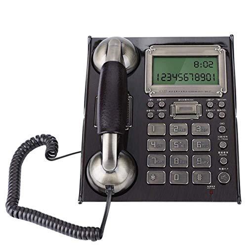 Teléfono fijo Teléfono antiguo europeo antiguo fijo