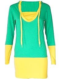 Sweat coton Djaneo Piranha Femme mode sport (5 coloris)