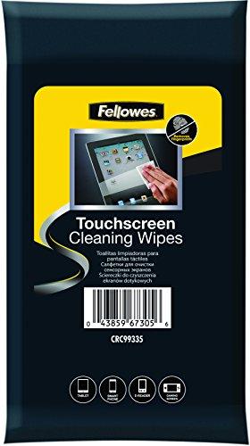 Fellowes 99335-20 toallitas húmedas de limpieza de pantallas táctiles smartphone, tablet, navegadores, E-book/libros electrónicos, MP4