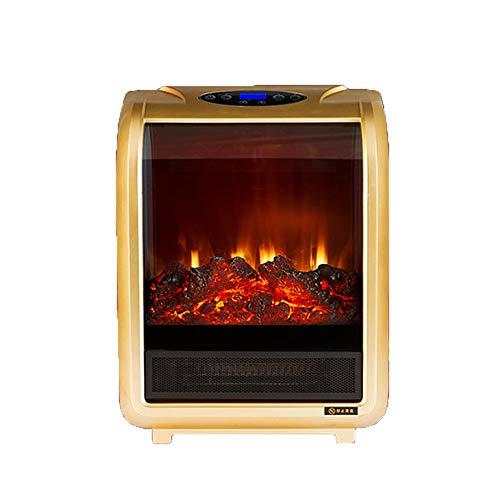 Heater LVZAIXI Freistehender elektrischer Kamin-Haushaltsenergieeinsparung-schwacher Heizungs-Büro-energiesparender Heizungs-Wohnzimmer-Heizung