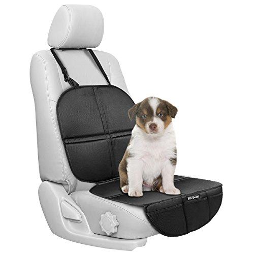 Kindersitzunterlage, OMorc Schutzunterlage für Autositze Fahrzeug Schutz für Kind und Baby Autositz/Autositz Cover schützt fahrzeugpolstern(Schwarz)