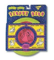 Soft Bite Floppy Disc For Dog Toy by BOODA Pet Products (English Manual)