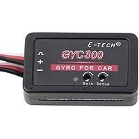 Impedancia baja baja Emisión de calor baja Potente Mini girocompás piezoeléctrico RC Coche Sistema de tracción trasera Gyro para RC Cars Barcos