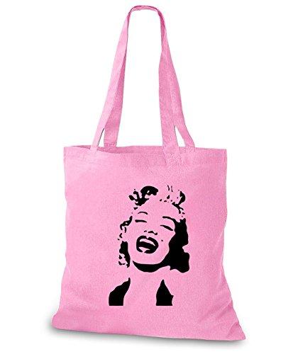 StyloBags Jutebeutel / Tasche Marilyn Rosa
