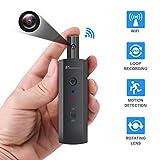 Best Hidden Cam Keys - Mini WiFi Body Camera, Wireless Hidden Spy camera Review