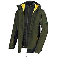 Regatta Herren Wentwood Iii 3 in 1 Waterproof and Breathable with Zip-Out Fleece Jacke