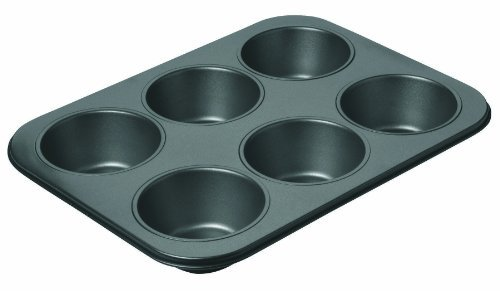 Chicago Metallic Non-Stick 6-Cup Giant Muffin Pan by CHICAGO METALLIC Chicago Metallic Non-stick Muffin Pan