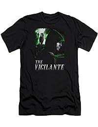 Green Arrow - - T-shirt Star City Defender hommes Slim Fit