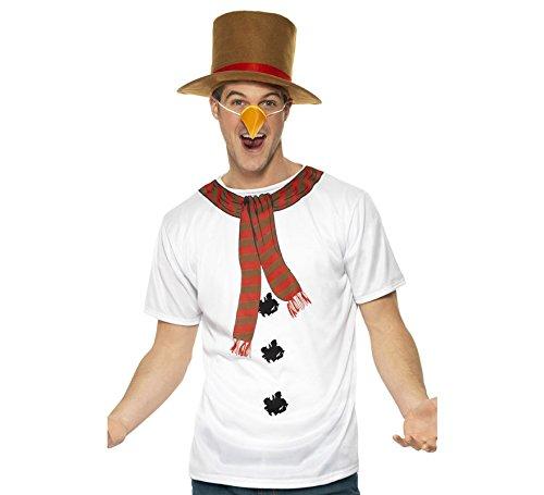 Schneemann-Kostüm für Männer Kit