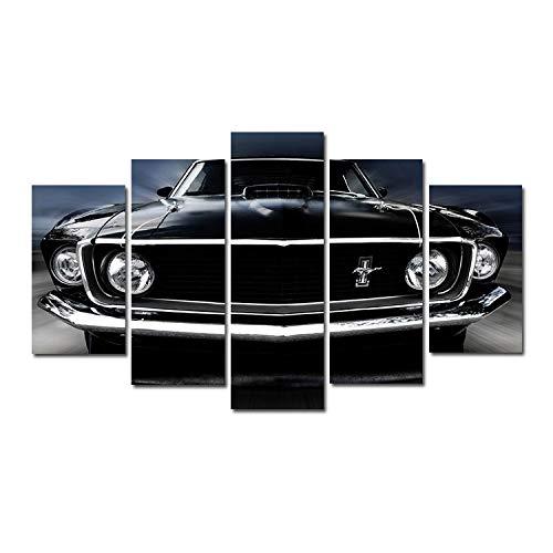 JunBo Mustang Voiture Muscle Voiture Maison Salon Porche Bureau peintures décoratives peintures