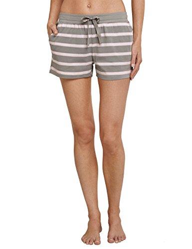 Schiesser Damen Schlafanzughose Jerseyhose Kurz, Grün (Farn 712), 42 (Herstellergröße 042)