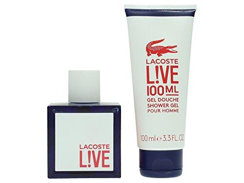 Lacoste Live spew out homme / men, Geschenkset (EdT 100ml + Duschgel 100ml)