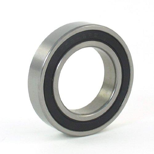 sourcingmap® 6905-2RS Rillenkugellager-Ersatz, 42mm x 25mm x 9mm, Silberfarben (1 Motor Geschwindigkeiten-kugellager)